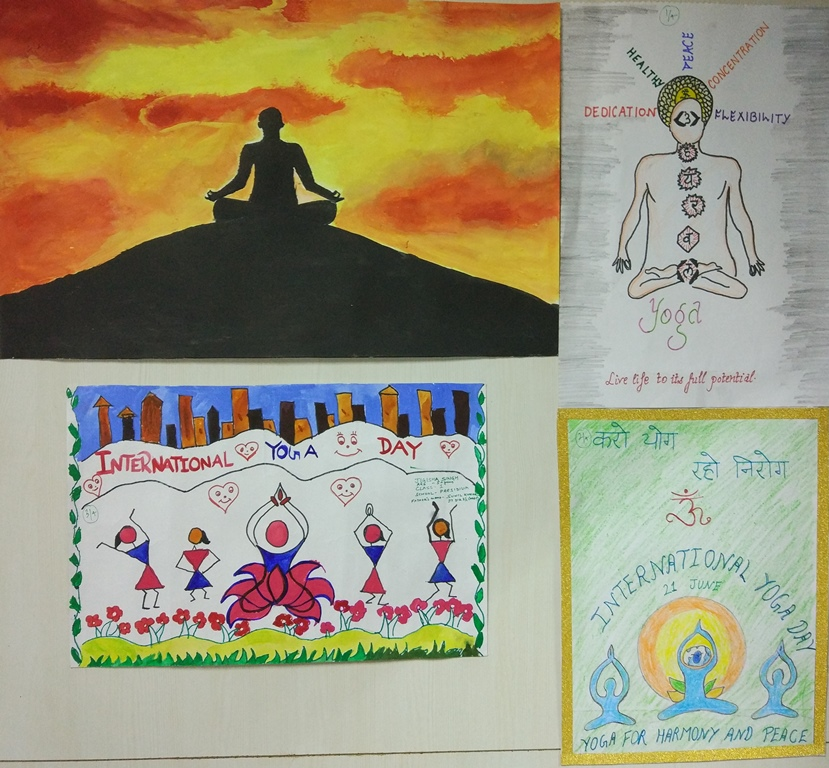 Painting competition on Yoga for children of PPAC employees फोटो गैलरी